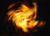 Twirl of bright explosion flash on black backgrounds. fire burst — Stock Photo