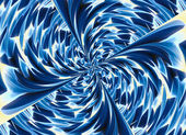Blue colored twirl relief crystal backgrounds — Foto Stock