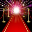 Red carpet — Stock Vector #18650561
