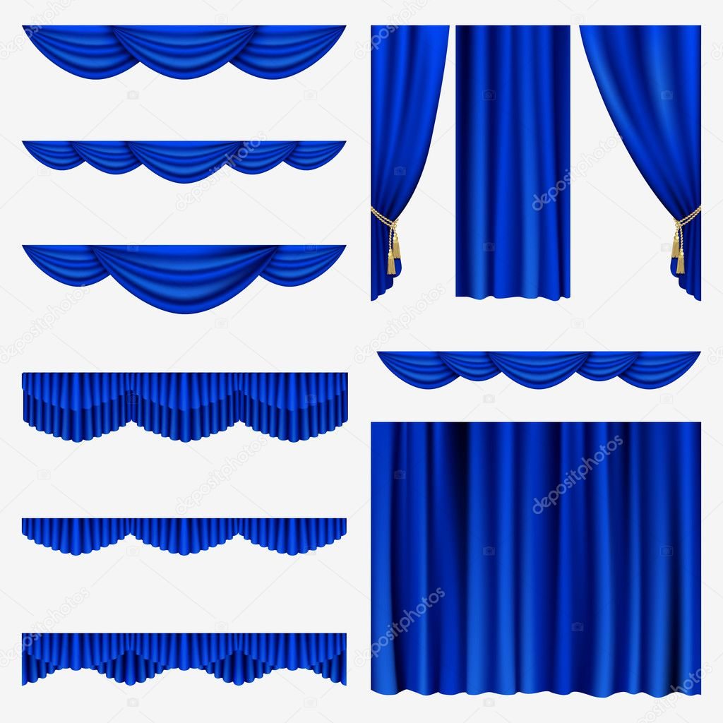 Purple stage curtains - Blue Stage Curtains Viewing Gallery