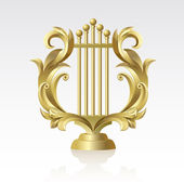 27 Lyre — Stock Vector