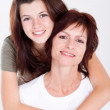 Happy mother and teen daughter — Stock Photo #11102127