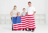 American family — Zdjęcie stockowe