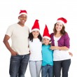 Happy multiracial family of four — Stock Photo #11308020