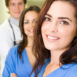 Group of medical workers portrait — Stock Photo #12037247