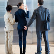Sexual harassment in workplace — Stockfoto