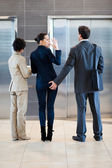 Sexual harassment in workplace — Stock Photo