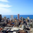 City view of Durban, South Africa - Stock Photo