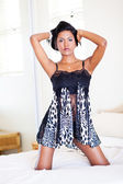 Sexy moda mulher — Fotografia Stock