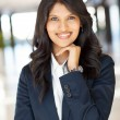 Young indian businesswoman — Stock Photo