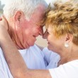 Stock Photo: Loving senior couple