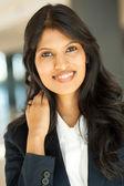 Indian businesswoman closeup — Stock Photo