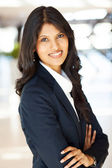 Pretty indian businesswoman portrait — Stock Photo