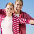 Happy young couple — Stock Photo #12527819