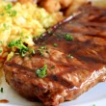 sulu biftek — Stok fotoğraf