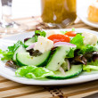 Fresh healthy food - salad - Stock Photo