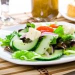 Fresh healthy food - salad — Stock Photo