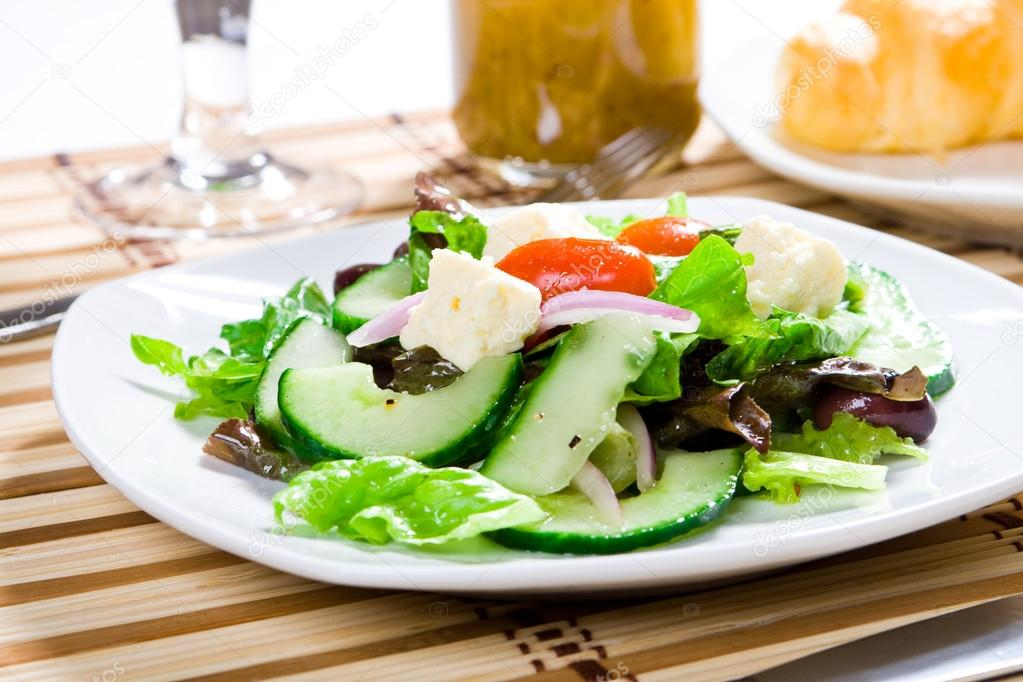 Fresh healthy food - salad — Stock Photo #12527912