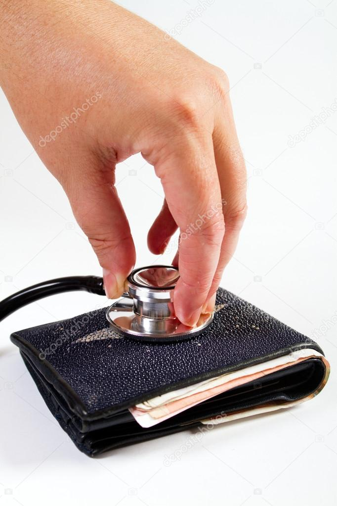 Diagnose your finance before spending — Stock Photo #12527927