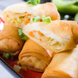 Stock Photo: Chinese spring roll