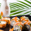 Stock Photo: Japanese sushi rolls