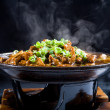 Hot chinese food with steam — Foto de stock #14773785