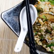 Foto Stock: Chinese style stir fry rice