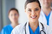 Groupe de travailleurs médicaux — Photo