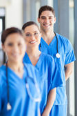 Portrait of group hospital staff in office — Stock Photo
