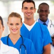 Stock Photo: Group of medical doctors and nurses portrait