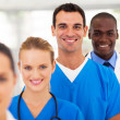 Group of modern medical professionals portrait  — Stock Photo