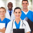 Stock Photo: Group of healthcare professionals in hospital