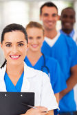 Group of modern smart medical team closeup — Stok fotoğraf