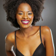 Stock Photo: Africwomin black bra