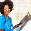 Beautiful african medical worker — Stock Photo #22381441