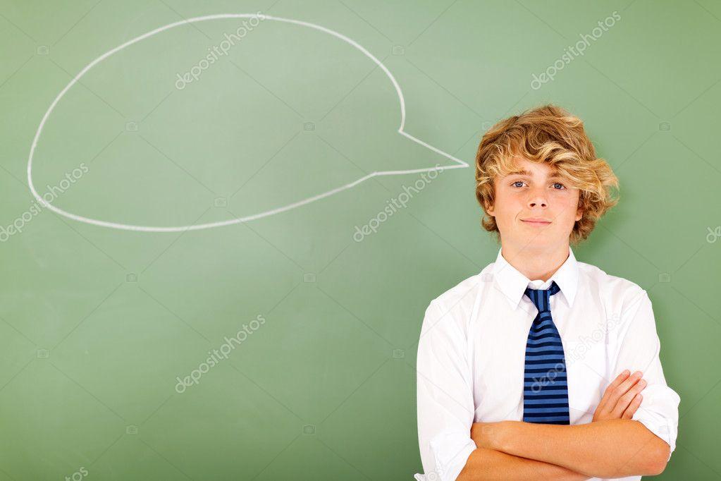 高中男孩的思考