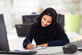 Middle eastern office worker — Stock Photo