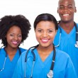 Group of african medical doctors — Stock Photo #23069048