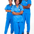 Group of african hospital workers — Stock Photo #23069130