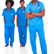 Royalty-Free Stock Photo: Group of african medical doctors and nurses