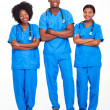 Royalty-Free Stock Photo: Group of african medical professionals