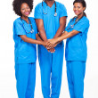 African medical team — Stock Photo