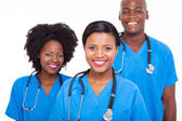 Group of african medical doctors — Stock Photo