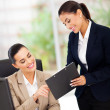 Business women working — Stock Photo