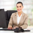Young businesswoman in office — Stock Photo #23467484