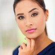 Portrait of young lady — Stock Photo