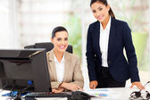 Portrait of smiling business women — Stock Photo