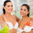 Women living a healthy lifestyle — Stock Photo