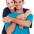 Young happy smiling couple — Stock Photo #23770499