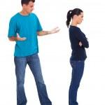 Couple having argument — Stock Photo #23771479